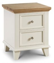 Portland 2 Drawer Bedside Chest